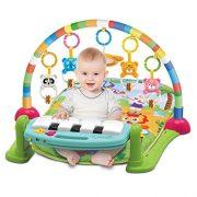 4-en-1-Kick-et-Play-Piano-Gym-unisexe-bb-Gym-Tapis-de-jeu-musical-dactivit-Tapis-de-jeu-jouets-en-peluche-Hochet-lumire-et-son-Tapis-de-jeu-dcouverte-Carpet-pour-les-tout-petits-enfants-nouveau-n-Kick-0-0