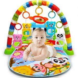 AimdonR-Tapis-de-fitness-pour-bb-Fitness-Jouet-piano-pour-enfant-exprience-bb-Kognition-dtection-de-fougres-dtection-des-animaux-nouveau-n-6-36-mois-0