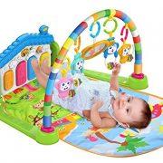 SURREAL-SM-3-en-1-bb-Playgm-play-mat-Piano-jouer-Gym-tapis-la-musique-et-lumires-Vert-0