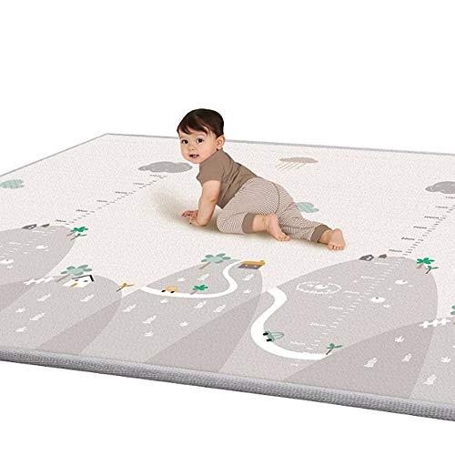 lulalula-Tapis-Jeu-pour-Enfants-Tapis-de-Jeu-Double-paisseur-ct-impermable-Soie-LDPE-Tapis-pour-bb-Idal-pour-Le-gattonamento-200-x-180-x-1-cm–Extra-Large-0