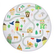 Winthome-Tapis-de-Jeu-Tapis-dveil-Pliable-Multi-fonction-Organisateur-de-Jouets-pour-Bb-Enfant-Tout-petit-Motif-Cartoon-Color-Maison-0-0