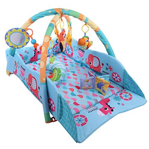 AMITAS-Tapis-dveil-Tapis-dveil-pour-Bb-Super-Doux-Bb-Fitness-Rack-Bb-Jeu-Couverture-Arches-de-Jeu-et-Jouets-Amovibles-Sain-et-Confortable-115-x-98-x-50cm-0