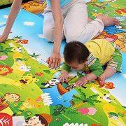 StillCool-Tapis-de-Jeux-Enfant-200x180cm-Tapis-de-jeu-pour-Bb-Enfant-Tapis-dveil-et-de-jeux-pour-Bb-Tapis-en-mousse-antidrapant-impermable-Appliquer--lintrieur-et-lextrieur-Non-toxique-0-0