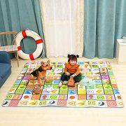 StillCool-Tapis-de-Jeux-Enfant-200x180cm-Tapis-de-jeu-pour-Bb-Enfant-Tapis-dveil-et-de-jeux-pour-Bb-Tapis-en-mousse-antidrapant-impermable-Appliquer--lintrieur-et-lextrieur-Non-toxique-0-1