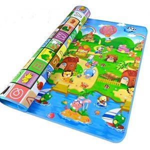 StillCool-Tapis-de-Jeux-Enfant-200x180cm-Tapis-de-jeu-pour-Bb-Enfant-Tapis-dveil-et-de-jeux-pour-Bb-Tapis-en-mousse-antidrapant-impermable-Appliquer--lintrieur-et-lextrieur-Non-toxique-0