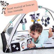 Tiny-Love-Gymini-Tapis-dveil-Bb-Musical-Design-Collection-Black-White-Ds-la-naissance-0m-93-x-85-x-49-cm-0-1