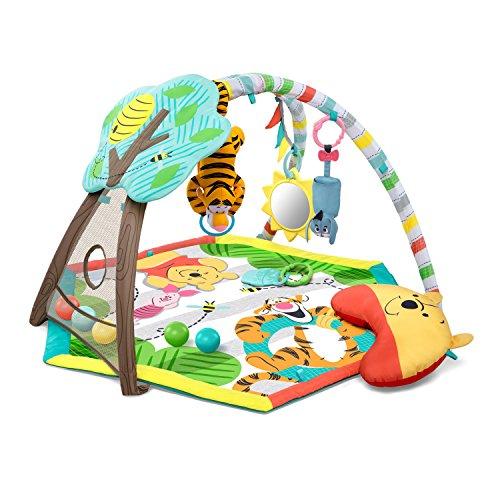 Disney-Tapis-dEveil-Winnie-Lourson-Arche-de-Jeu-avec-Jouets-Amovibles-Ds-la-Naissance-0