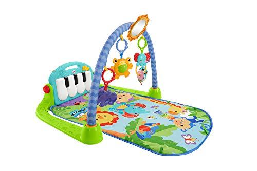 Fisher-Price-Tapis-Musical-dveil-et-dActivit-Piano-pour-Bb-Aire-de-Jeu-avec-4-Modes-ds-la-Naissance-bleu-BMH49-0