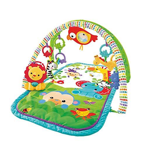 Fisher-Price-Amis-de-la-Jungle-3-en-1-tapis-dveil-musical-pour-bb-transportable-arches-de-jeu-et-jouets-emballage-ferm-ds-la-naissance-GXC36-0